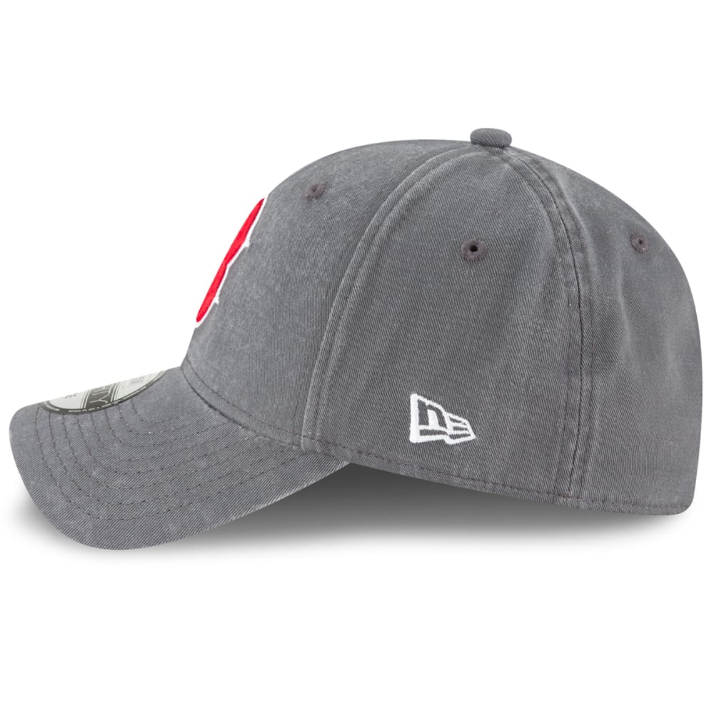 BOSTON RED SOX Men's Core Fit 49Forty Fitted Cap - GRAPHITE