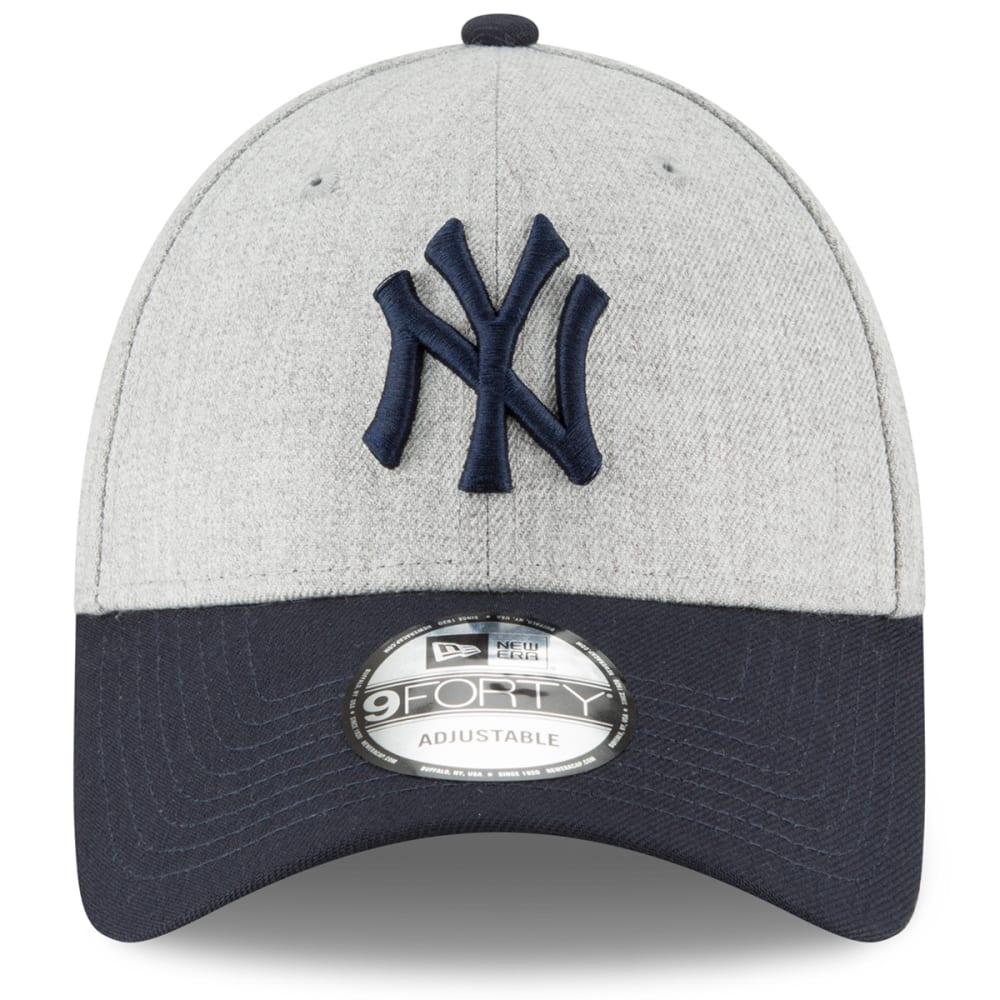 NEW YORK YANKEES Men's The League Heather 9Forty Adjustable Cap - NAVY