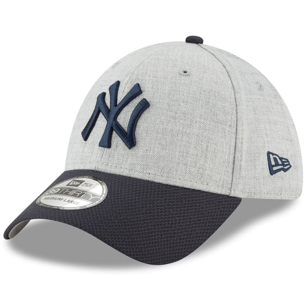 NEW YORK YANKEES Men's Change Up Redux 39Thirty Fitted Cap - HEATHER GREY