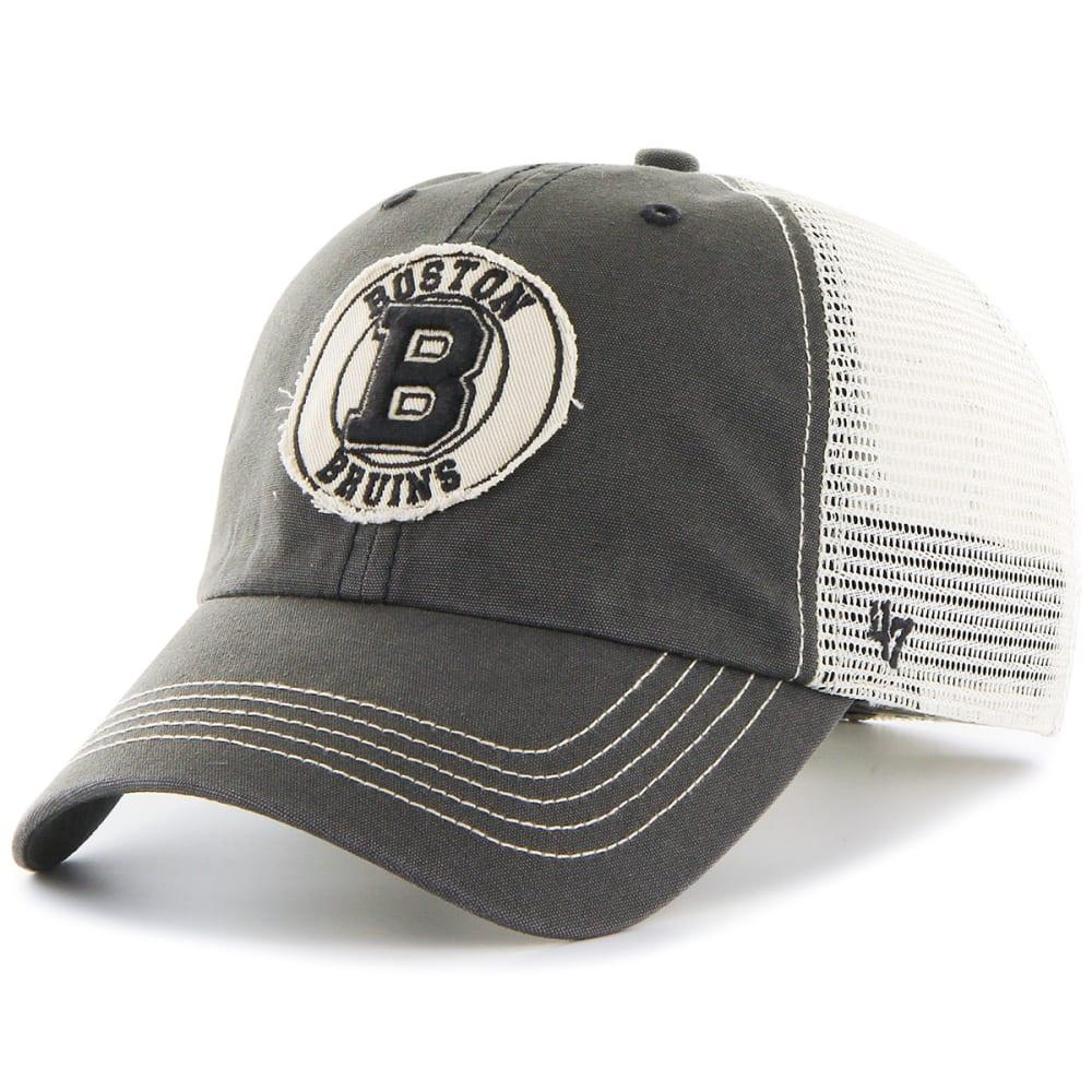 BOSTON BRUINS Men's Cuddyhook '47 Closer Stretch Fit Cap - GREY