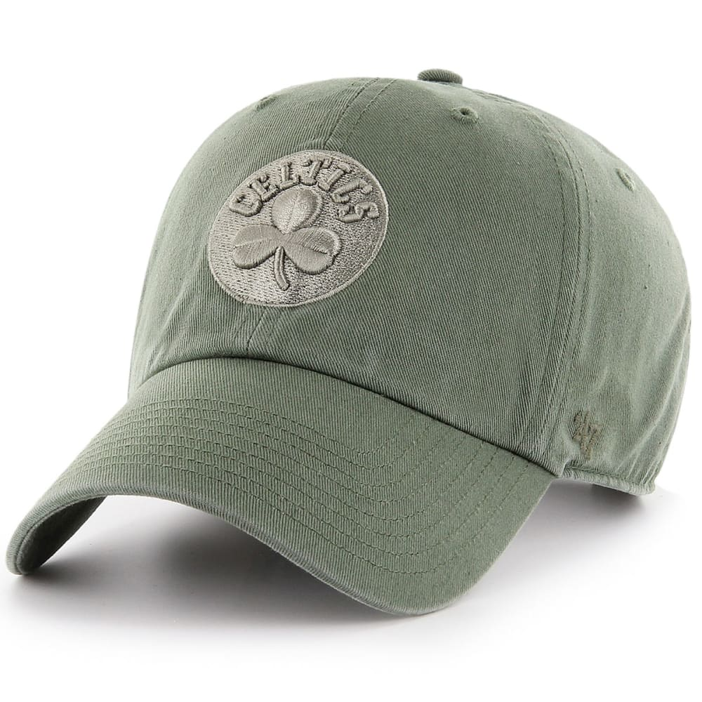 BOSTON CELTICS Men's '47 Clean Up Adjustable Cap, Moss - MOSS