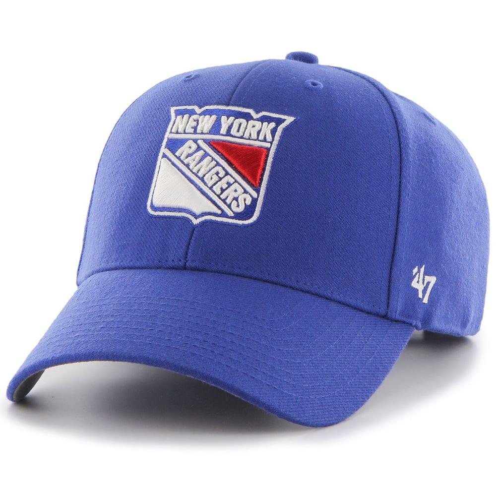 NEW YORK RANGERS '47 MVP Adjustable Cap - ROYAL BLUE