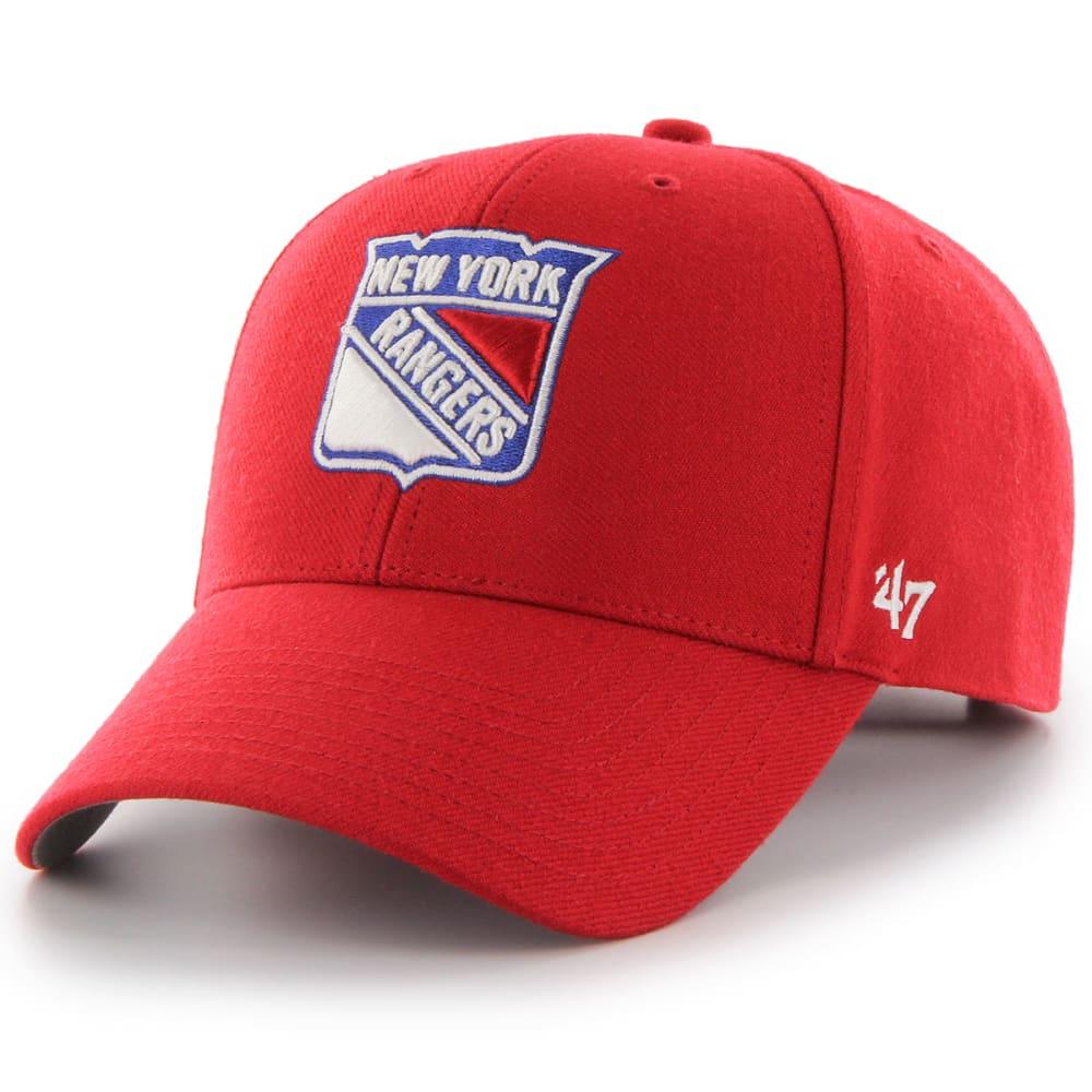 NEW YORK RANGERS '47 MVP Adjustable Cap - RED