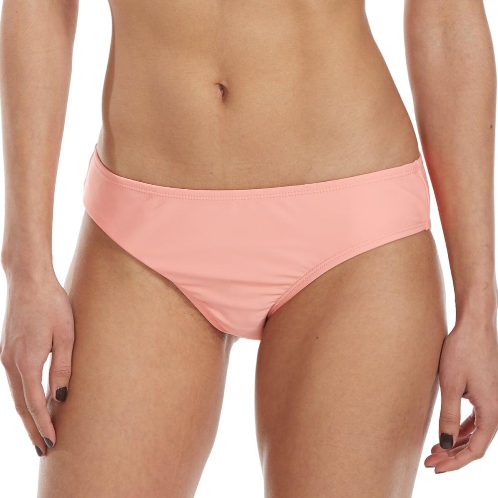 HOT WATER Juniors' Wide Cheeky Hipster Bikini Bottoms L