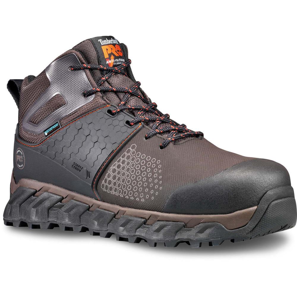 TIMBERLAND PRO Men's 6 in. Ridgework Composite Toe Waterproof Work Boots - 214 BROWN