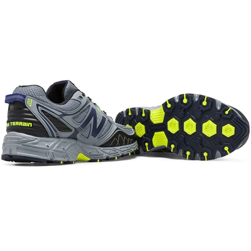 NEW BALANCE Men's New Balance 510v3 Trail Running Shoes, Wide - GREY-WIDE
