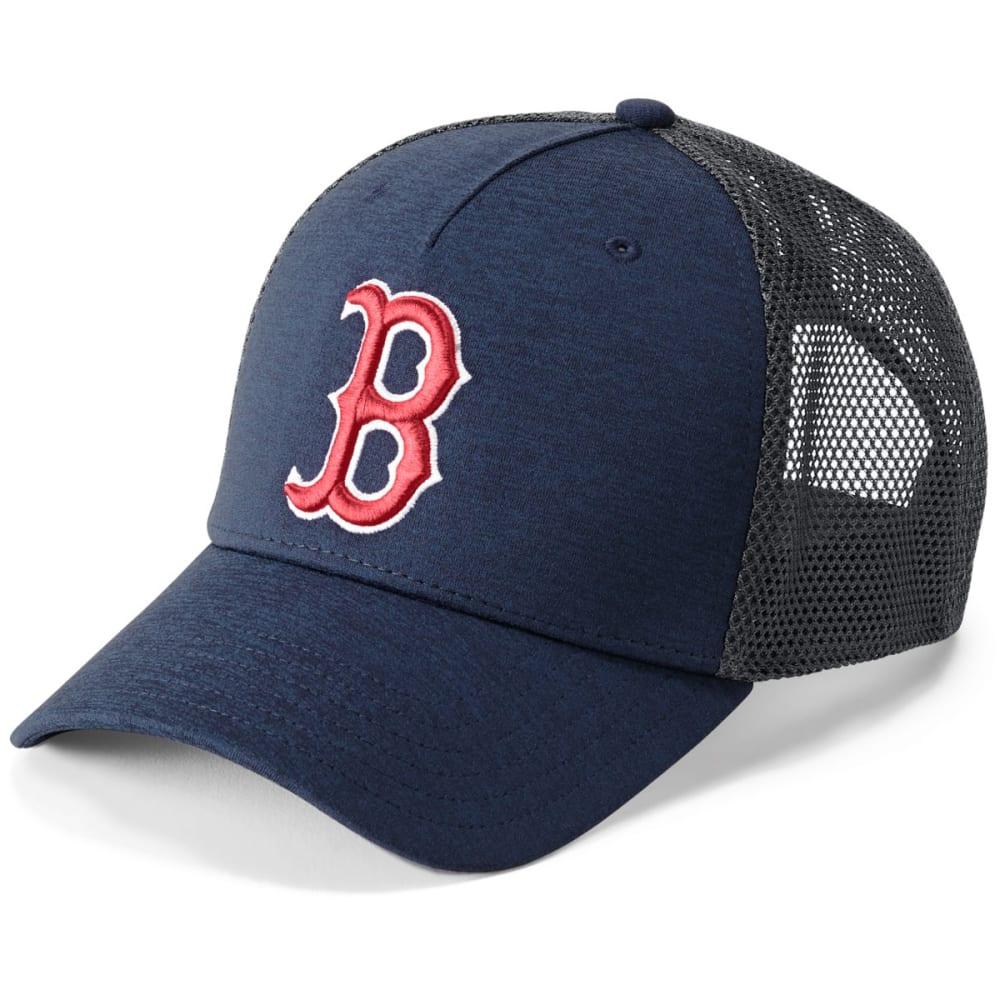 UNDER ARMOUR Men's Boston Red Sox Armour Twist Trucker Cap - NAVY