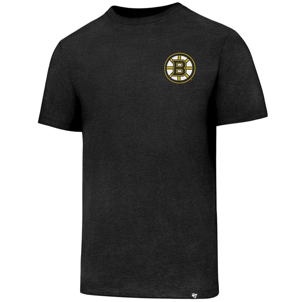 BOSTON BRUINS Men's Backer '47 Club Short-Sleeve Tee - BLACK