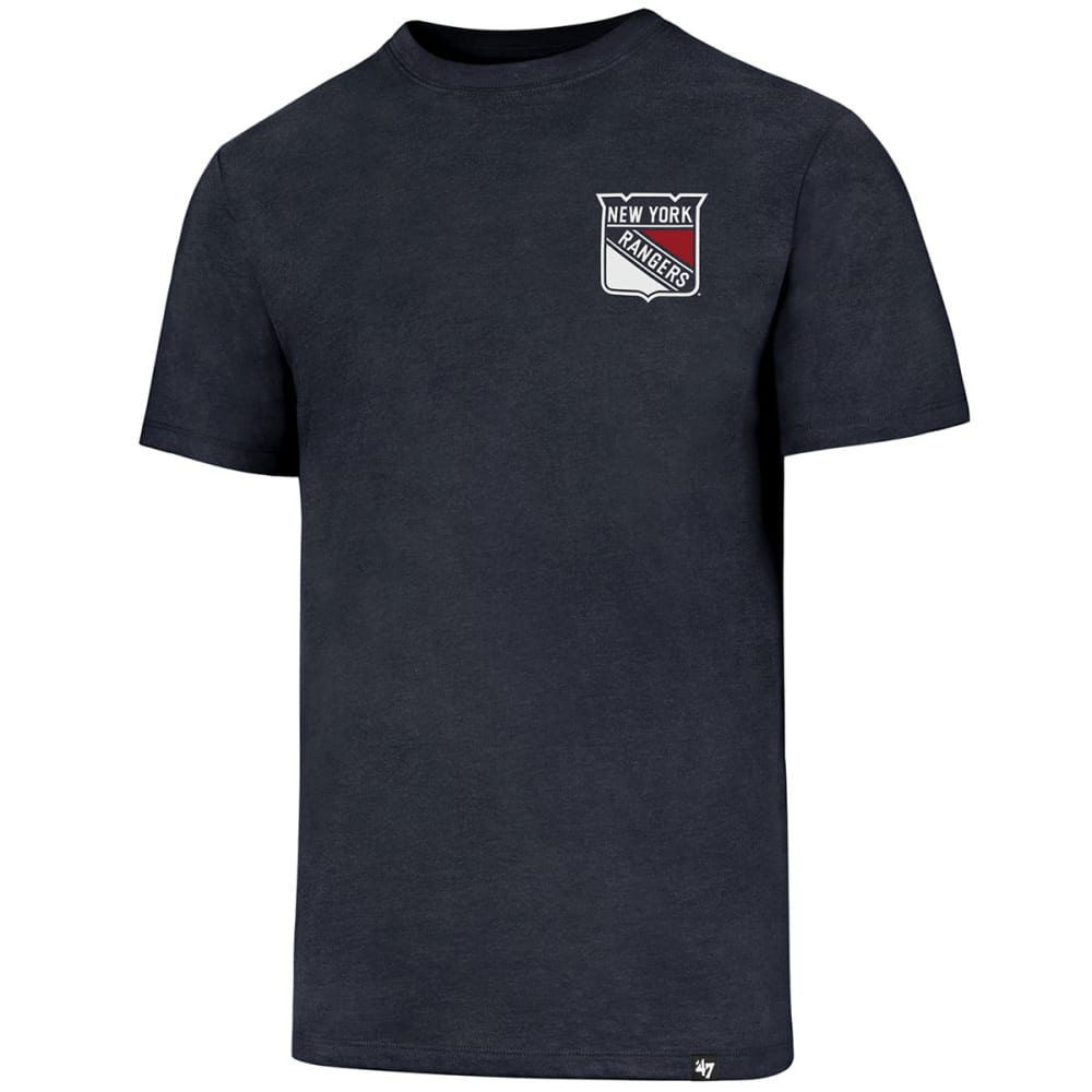 New York Rangers Men's Backer 47 Club Short-Sleeve Tee - Blue, L