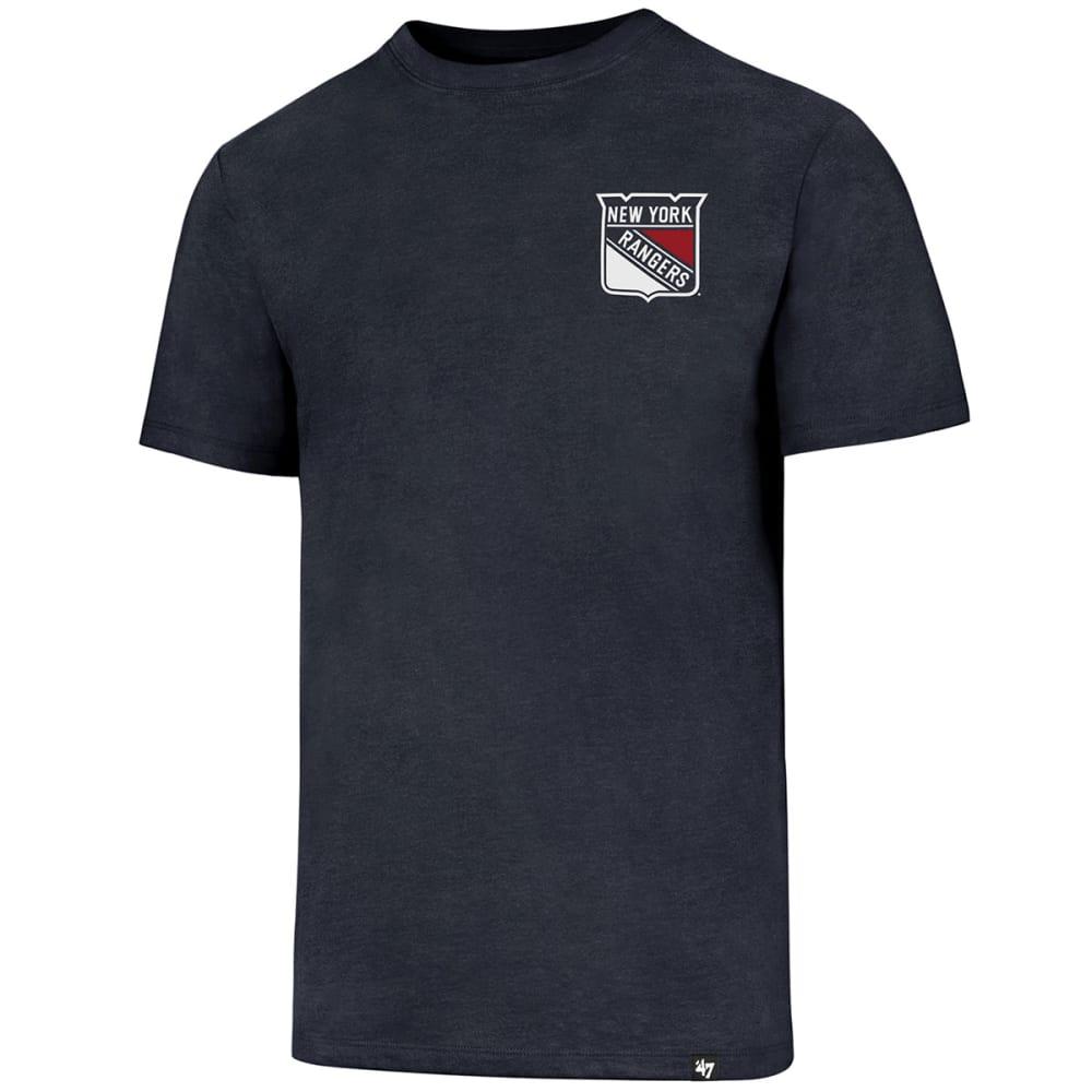 NEW YORK RANGERS Men's Backer '47 Club Short-Sleeve Tee - NAVY