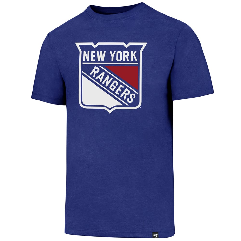 New York Rangers Men's Imprint 47 Club Short-Sleeve Tee - Blue, M