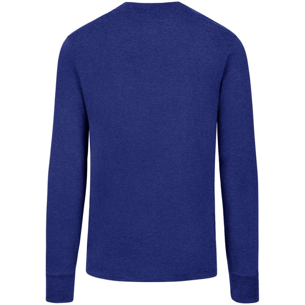 NEW YORK RANGERS Men's '47 Club Long-Sleeve Tee - ROYAL BLUE
