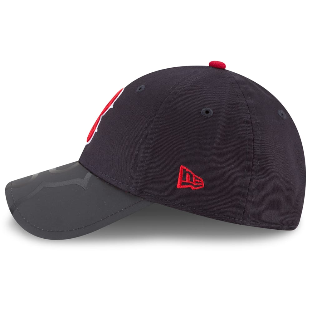 BOSTON RED SOX Kids' Reflectavize Adjustable Cap - NAVY