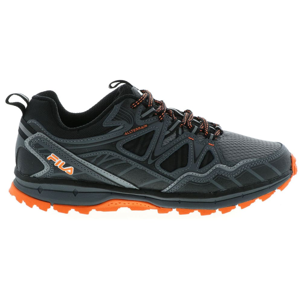 FILA Men's Memory TKO TR 5.0 Trail Running Shoes, Wide - CASTLEROCK