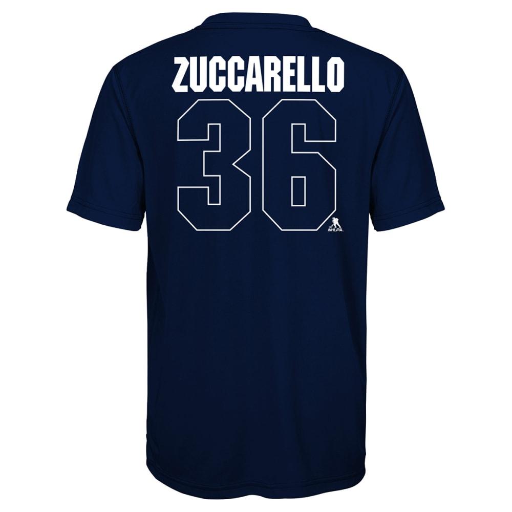 NEW YORK RANGERS Big Boys' 2018 Winter Classic Locker Room Authentic Mats Zuccarello #36 Short-Sleeve Tee - NAVY