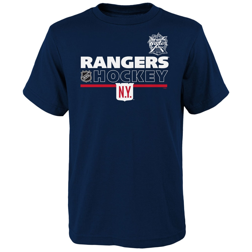 NEW YORK RANGERS Big Boys' 2018 Winter Classic Localized Short-Sleeve Tee - NAVY