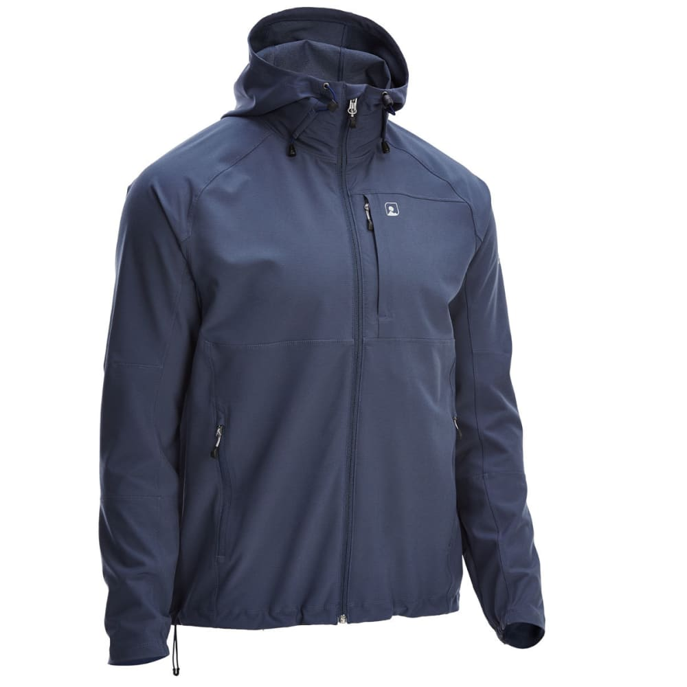 EMS Men's Softshell Jacket - BLUE NIGHTS