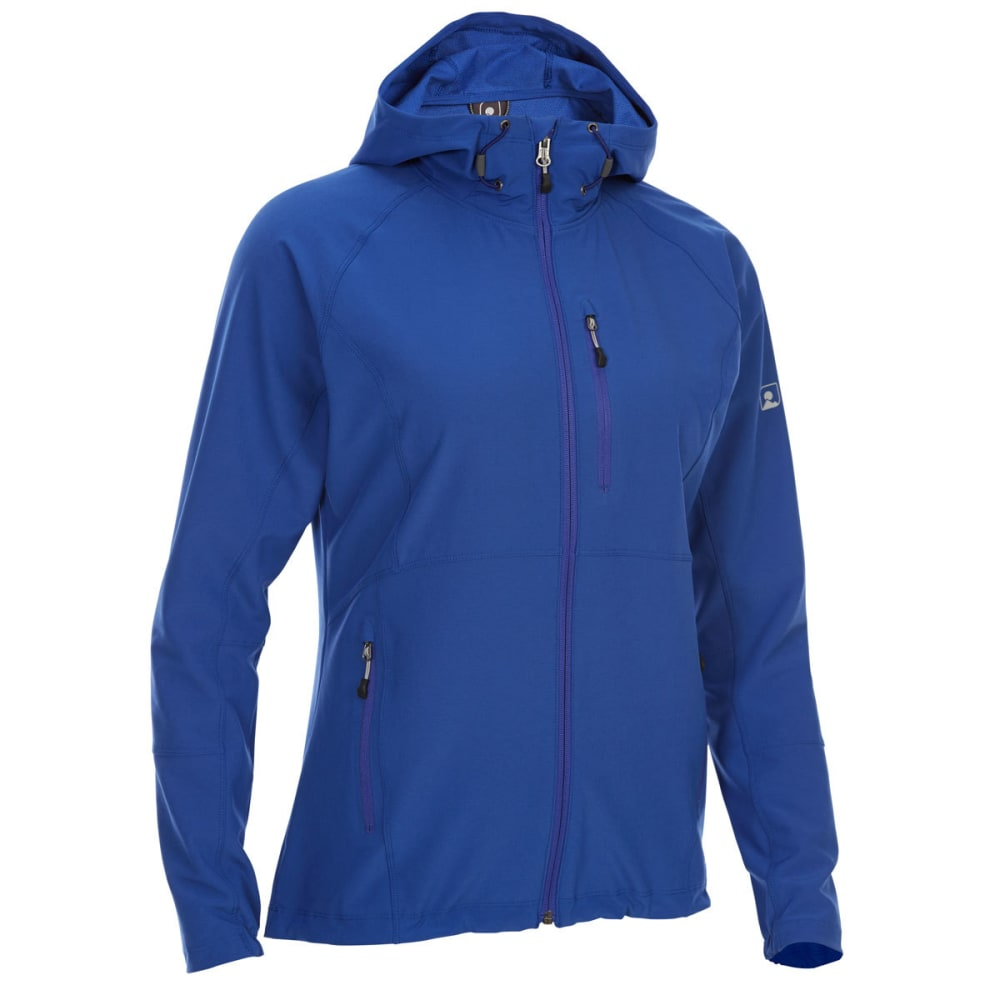 EMS Women's Softshell Jacket - MAZARINE BLUE