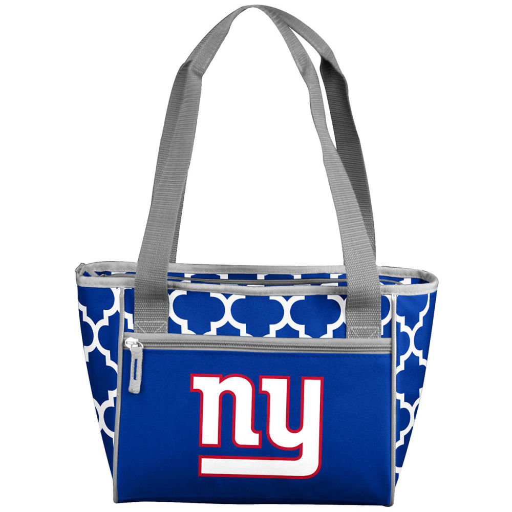 NEW YORK GIANTS Quatrefoil 16 Can Cooler Tote NO SIZE