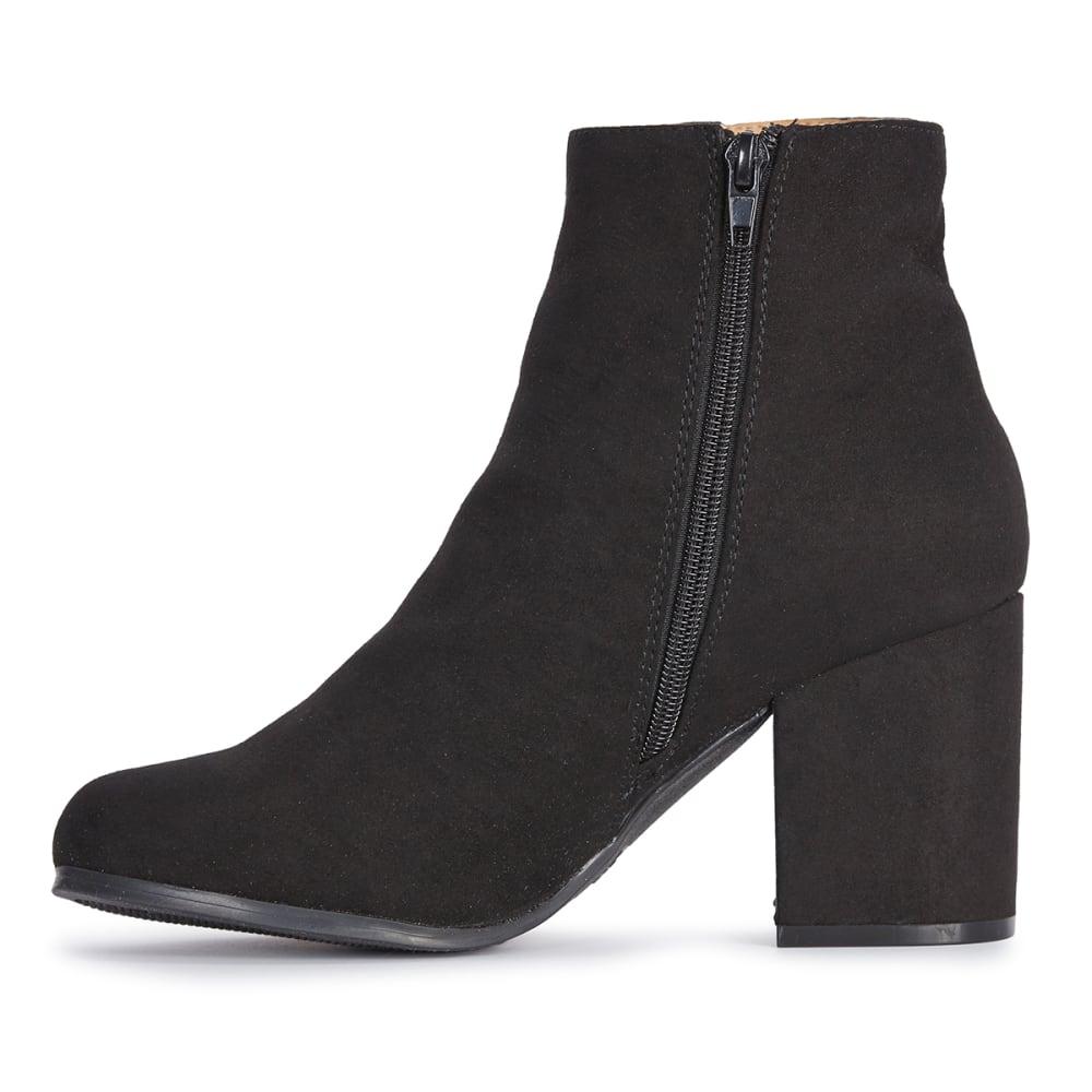 QUPID Women's Rannel-07 Ankle Boots, Black - BLACK