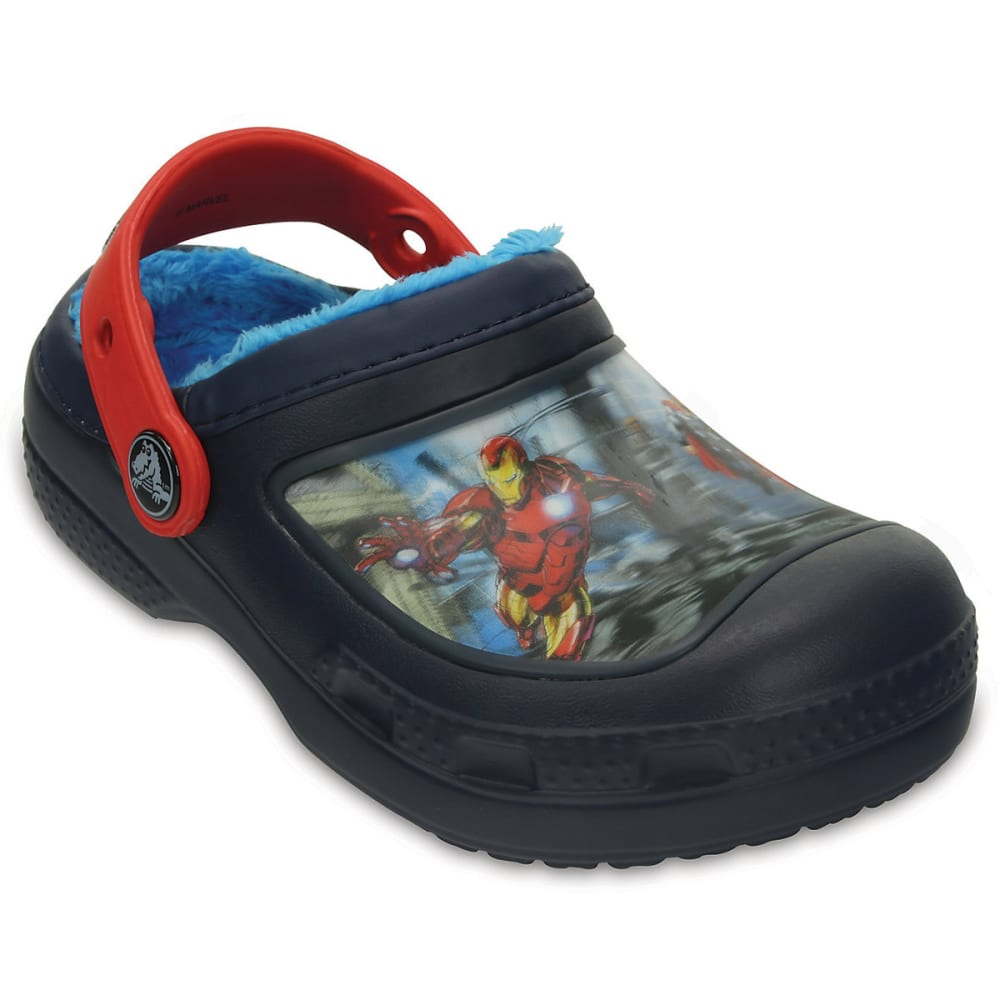 "CROCS Kids' Creative Marvel's Avengersâ""¢ Fuzz Lined Clog - MULTI"