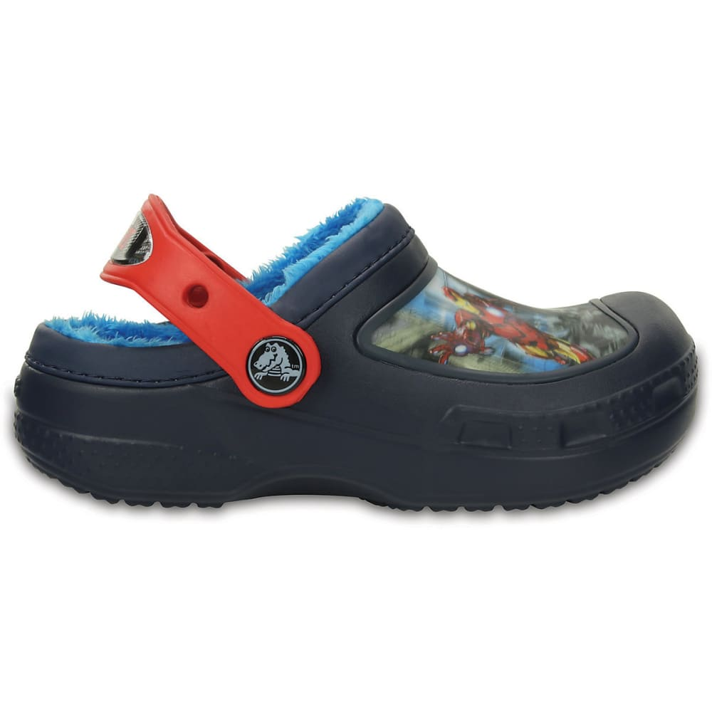 Crocs Kids' Creative MarvelS Avengers(TM) Fuzz Lined Clog - Various Patterns, 1