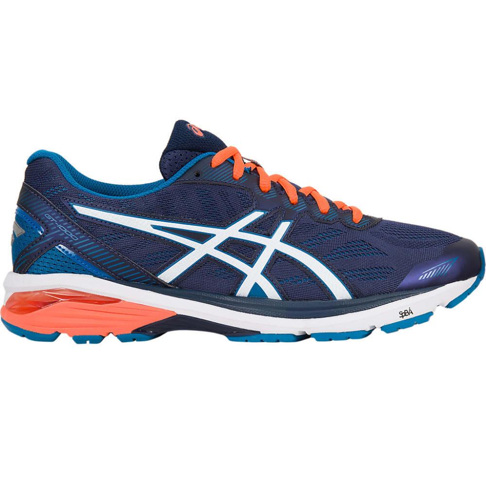 ASICS Men's GT-1000 5 Running Shoes, Navy/Orange - NAVY