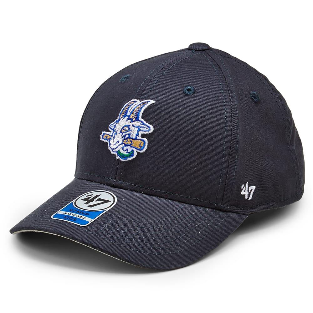 HARTFORD YARD GOATS Kids' Basic '47 MVP Adjustable Hat - NAVY