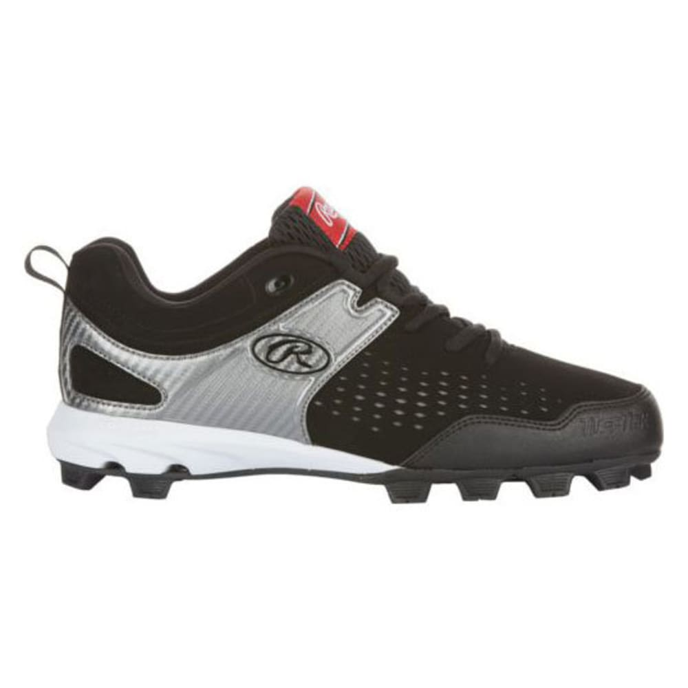 RAWLINGS Men's Clubhouse Baseball Cleats - BLACK