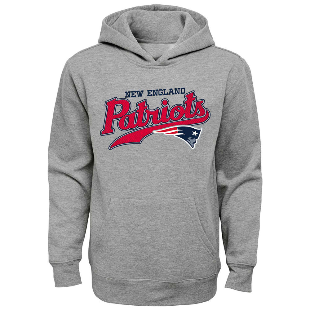 NEW ENGLAND PATRIOTS Boys' Do Script Pullover Hoodie S