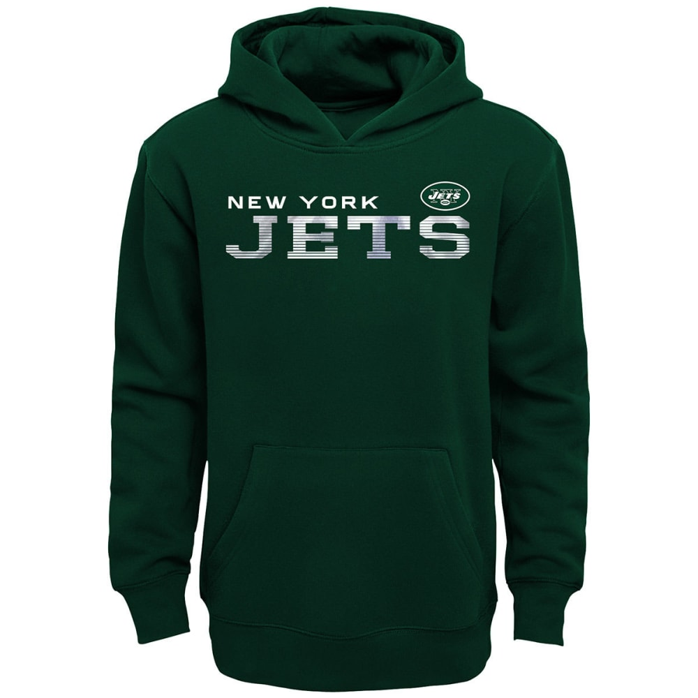 NEW YORK JETS Boys' Next Level Pullover Hoodie - GREEN
