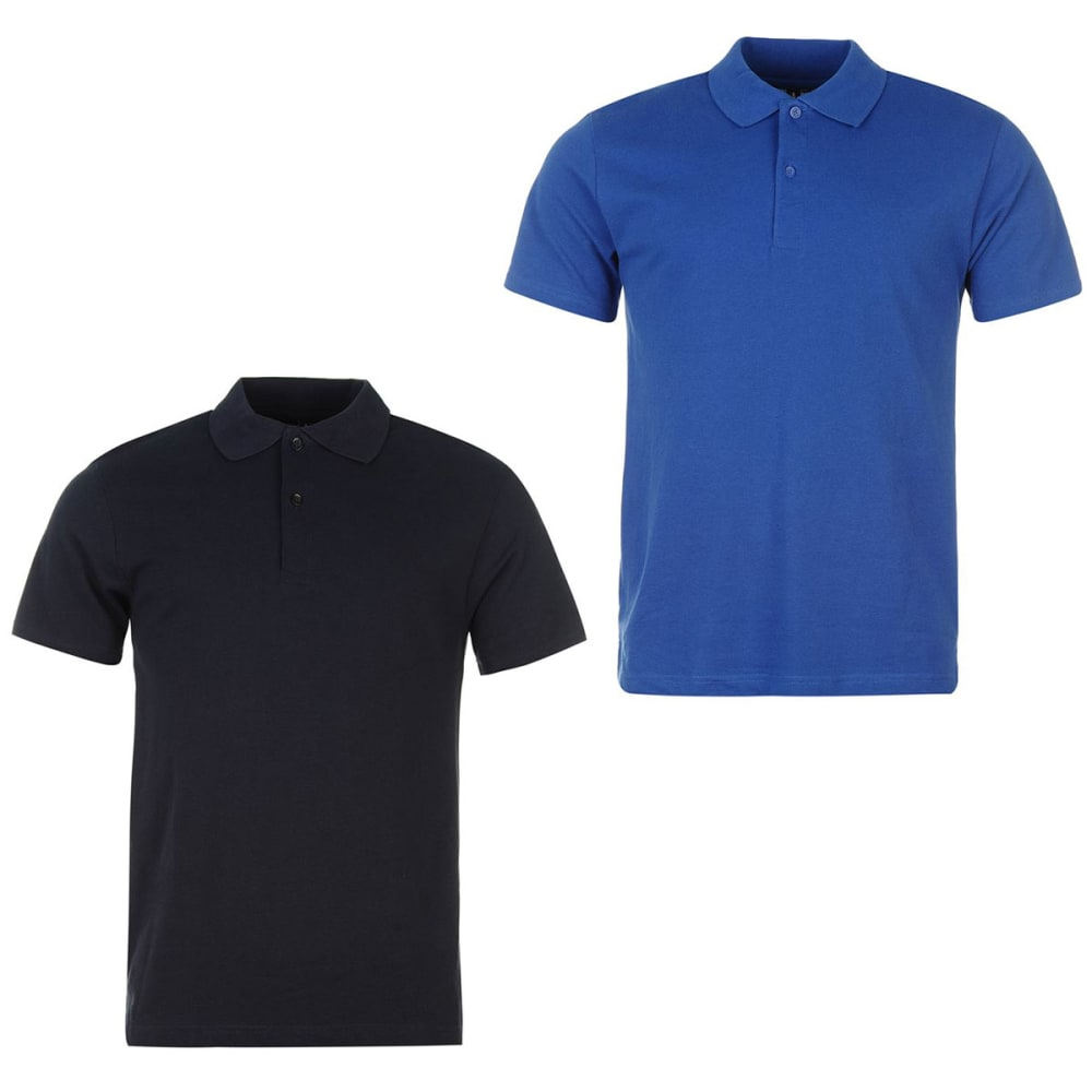 DONNAY Men's Short-Sleeve Polo Shirts, 2-Pack XS