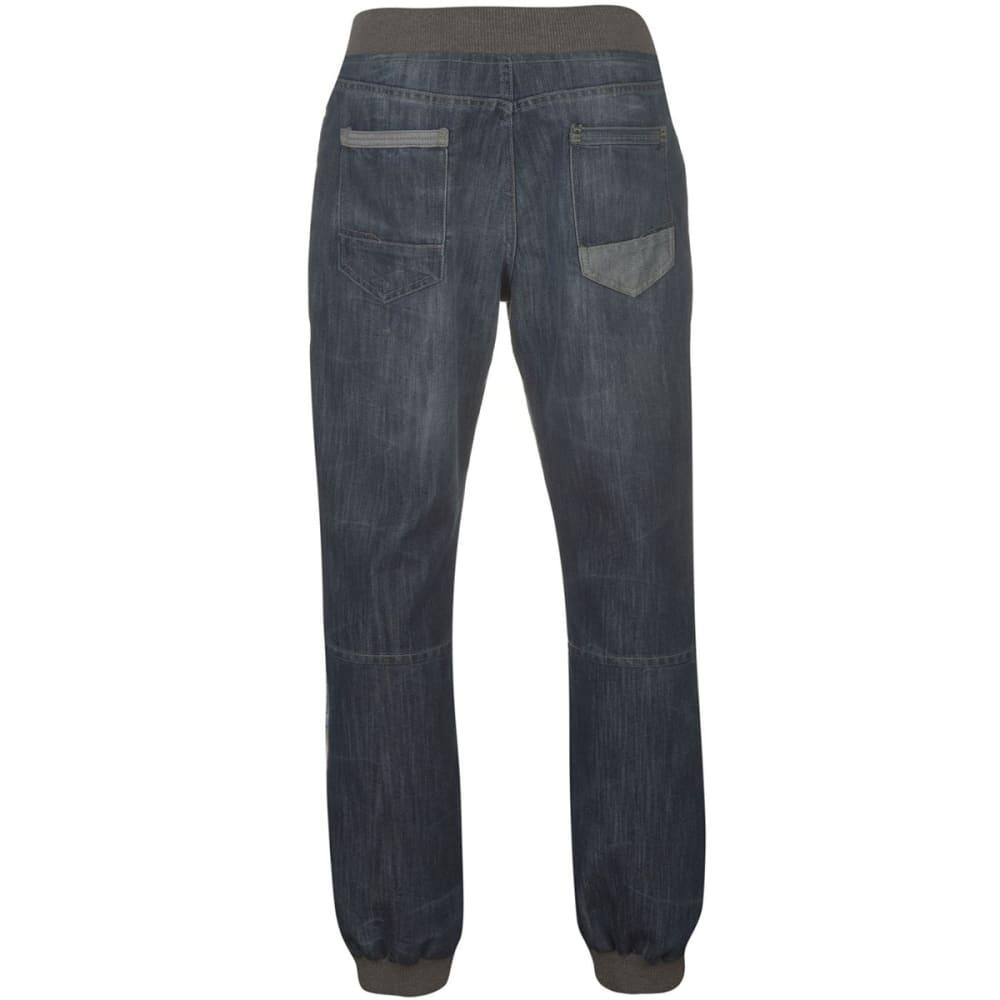 NO FEAR Men's Cuffed Jeans - Mid Wash