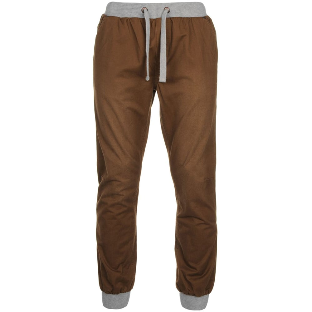 SOULCAL Men's Ribbed Waistband Chinos XS
