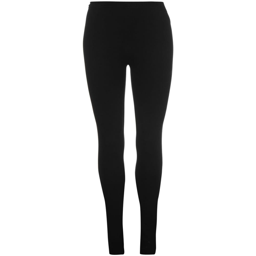 MISO Women's Basic Leggings - BLACK