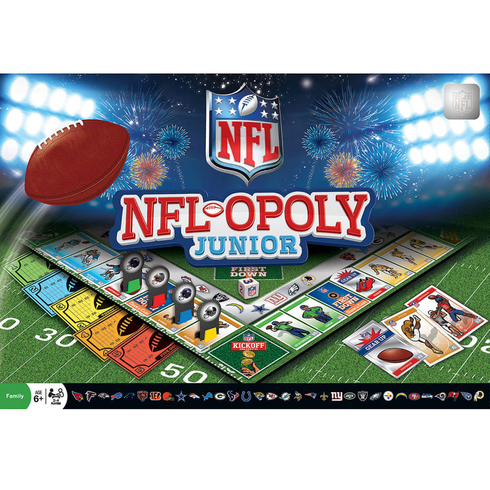 NFL NFL-Opoly Junior Board Game NO SIZE