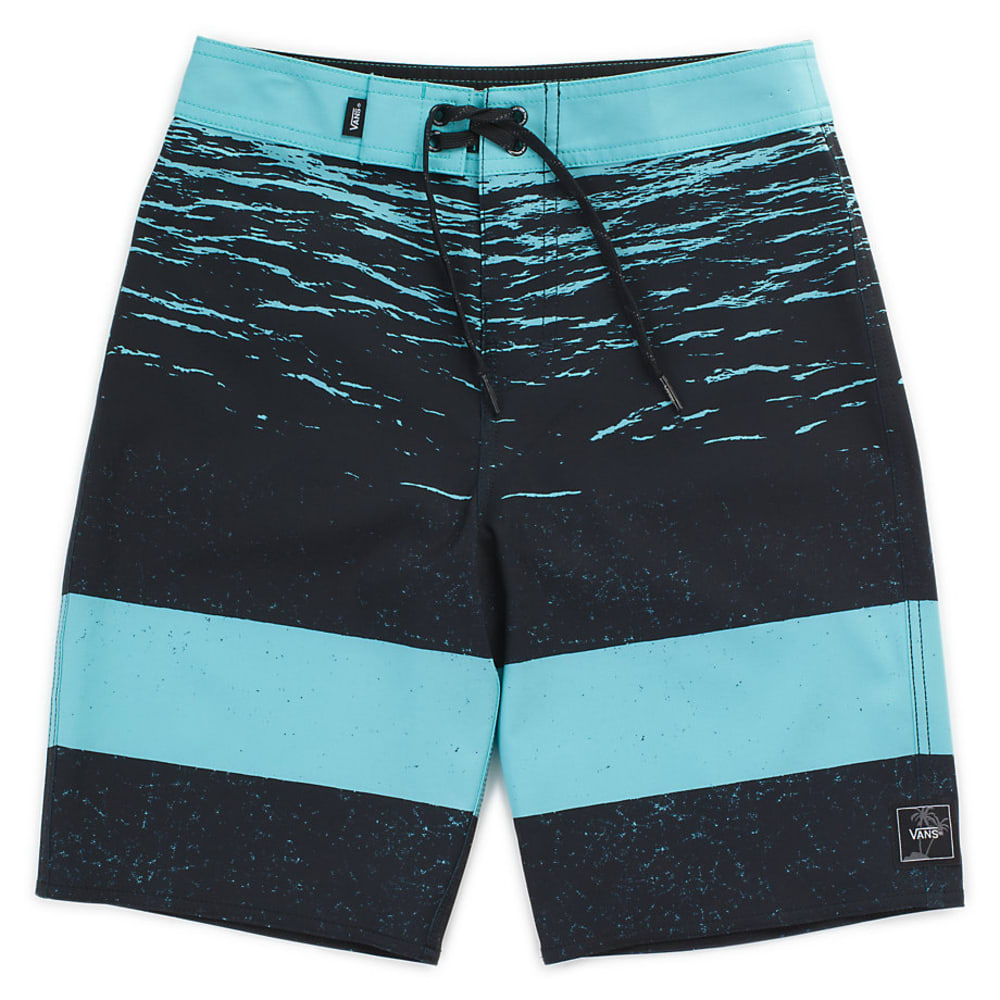 VANS Big Boys' Era Aquarelle Dark Water Boardshorts - AQUARELLE DK WTR