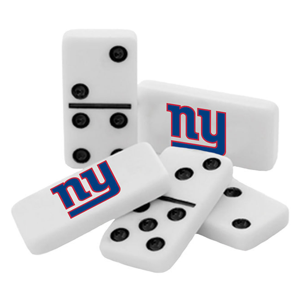 NEW YORK GIANTS Dominoes Set - NO COLOR