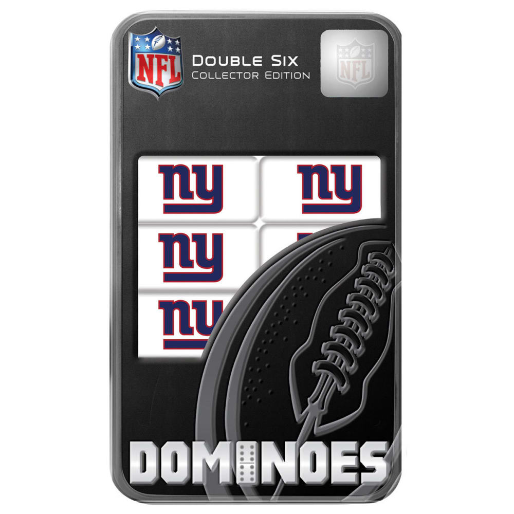 NEW YORK GIANTS Dominoes Set - NO COLOR
