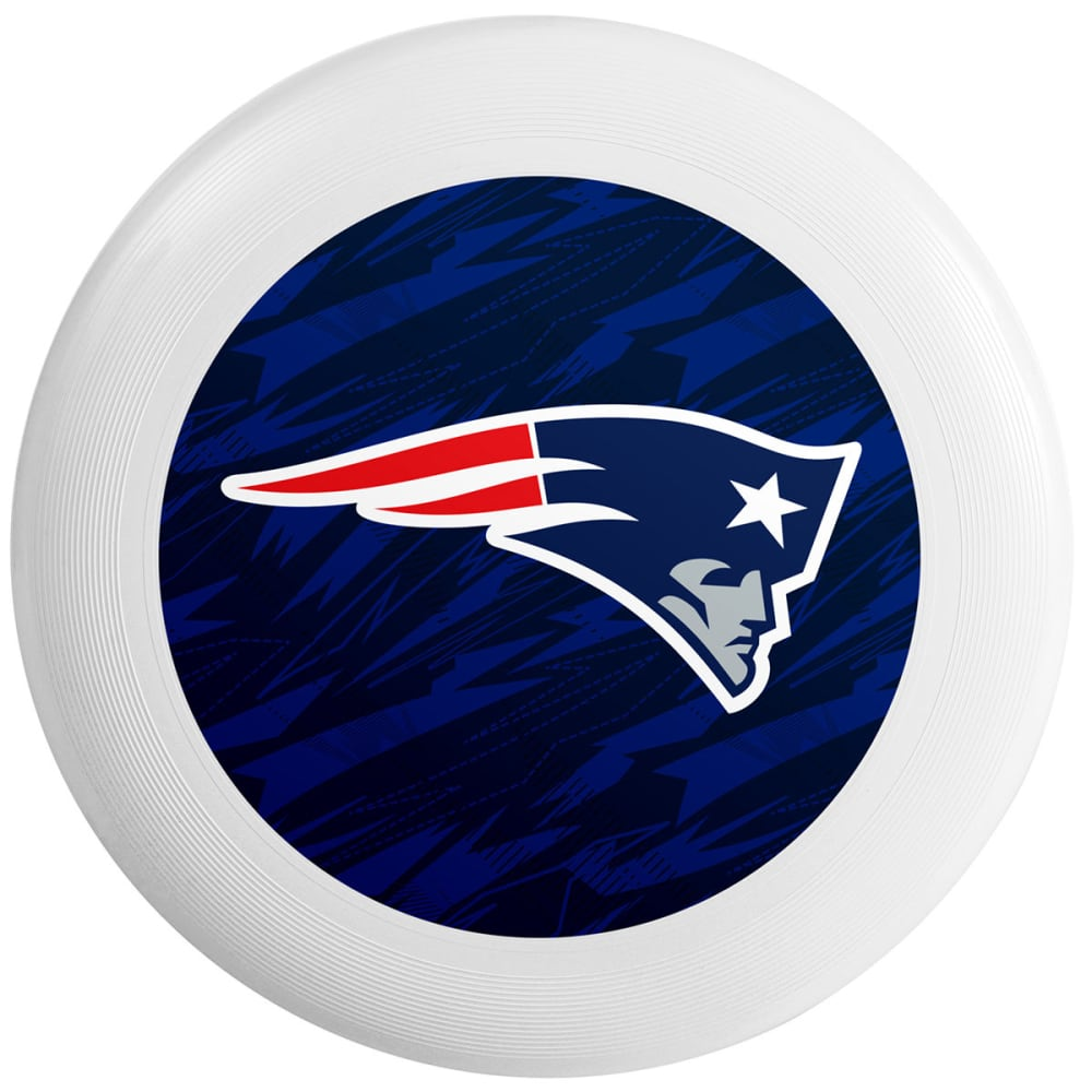 NEW ENGLAND PATRIOTS Flying Disc - WHITE