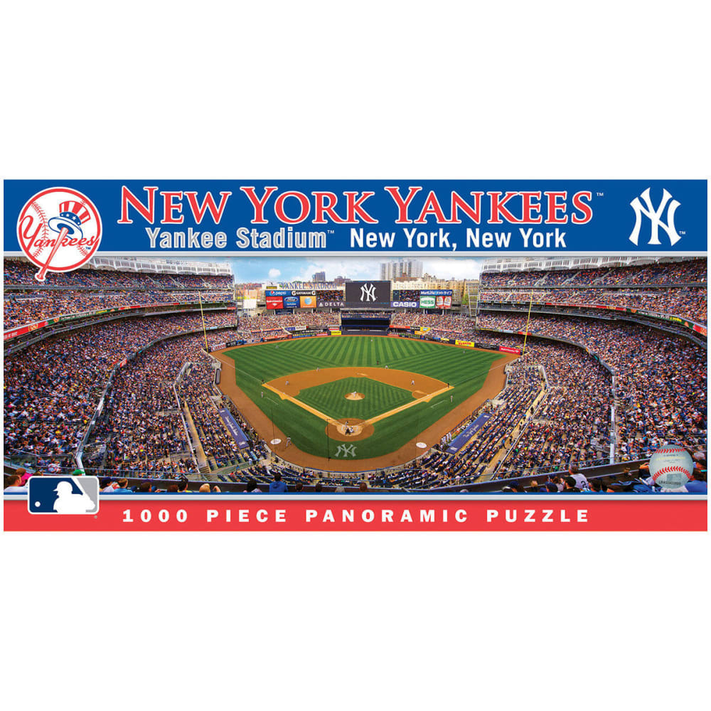 NEW YORK YANKEES 1000-Piece Panoramic Puzzle NO SIZE