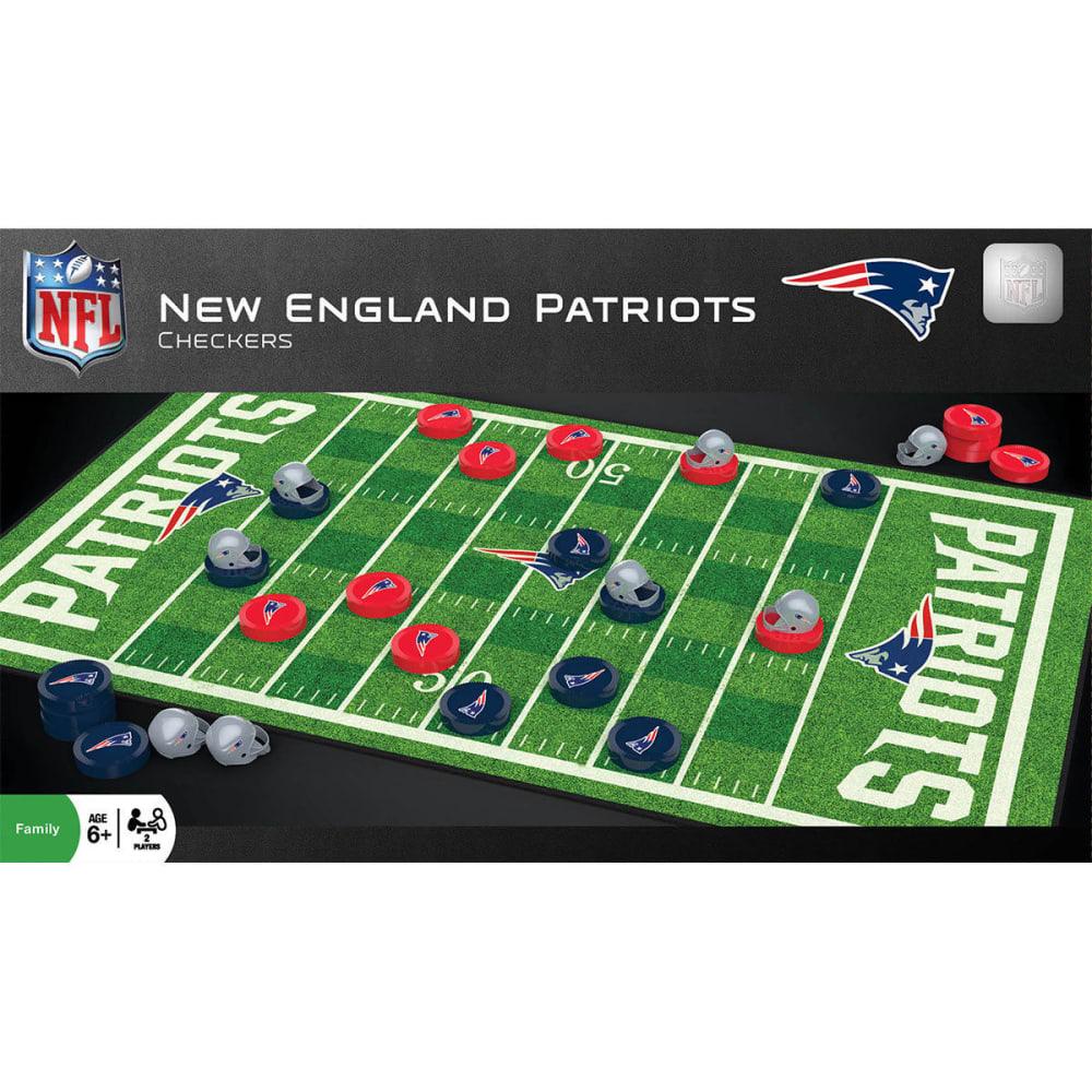 NEW ENGLAND PATRIOTS Checkers Board Game - NO COLOR