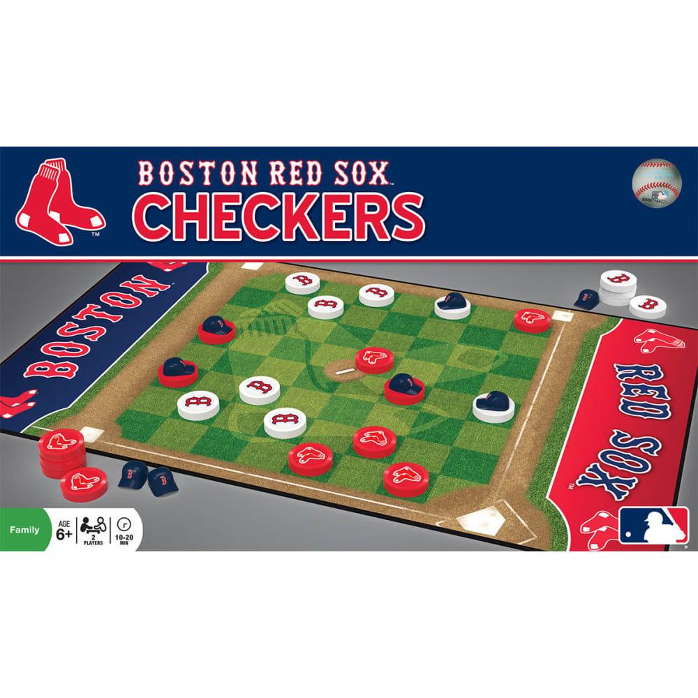 BOSTON RED SOX Checkers Board Game - NO COLOR