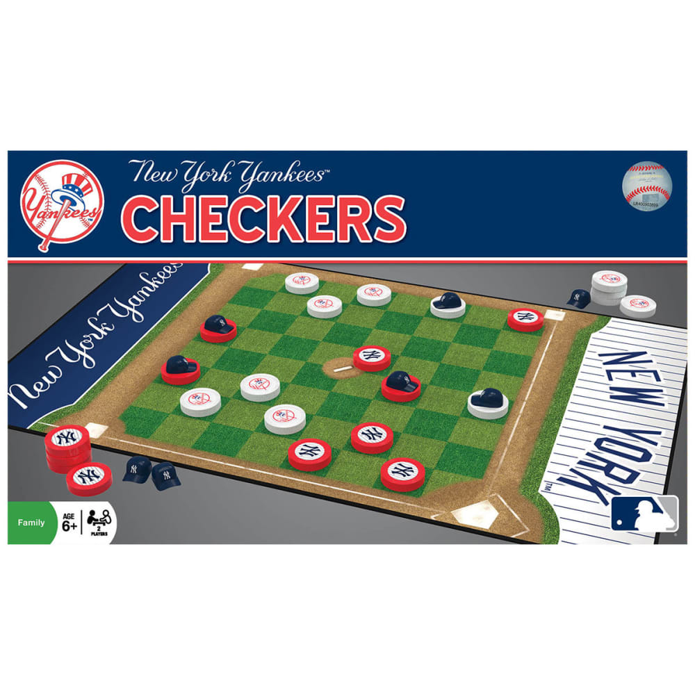 NEW YORK YANKEES Checkers Game - NO COLOR