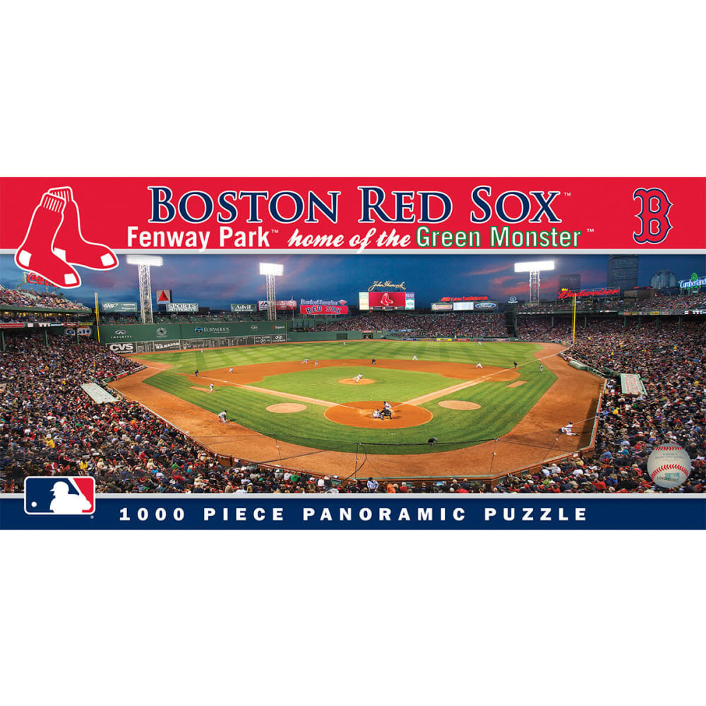 BOSTON RED SOX 1000-Piece Panoramic Puzzle - NO COLOR