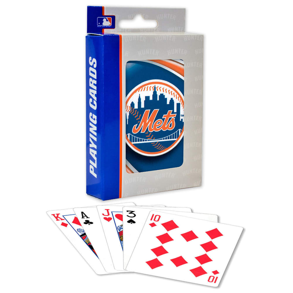 NEW YORK METS Playing Cards - NO COLOR