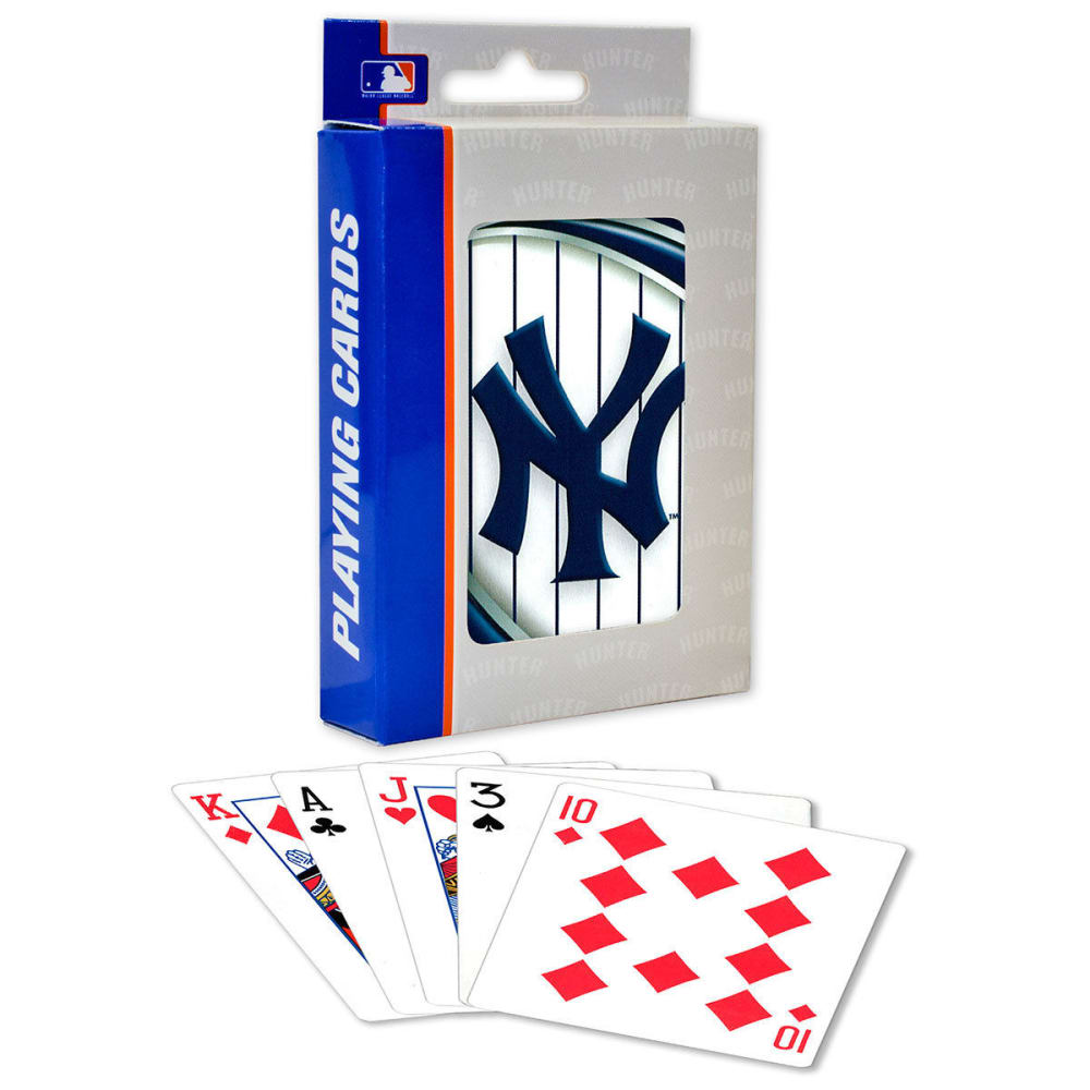 NEW YORK YANKEES Playing Cards - NO COLOR