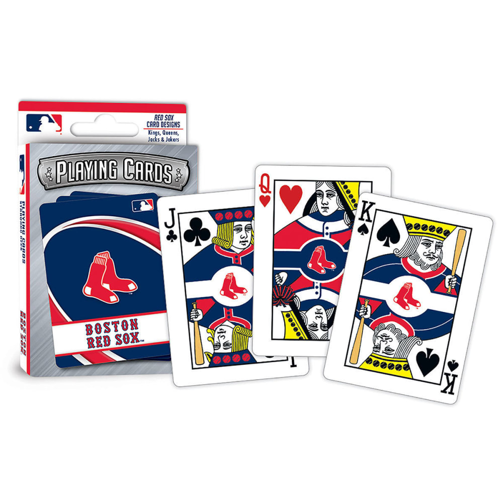 BOSTON RED SOX Playing Cards - NO COLOR