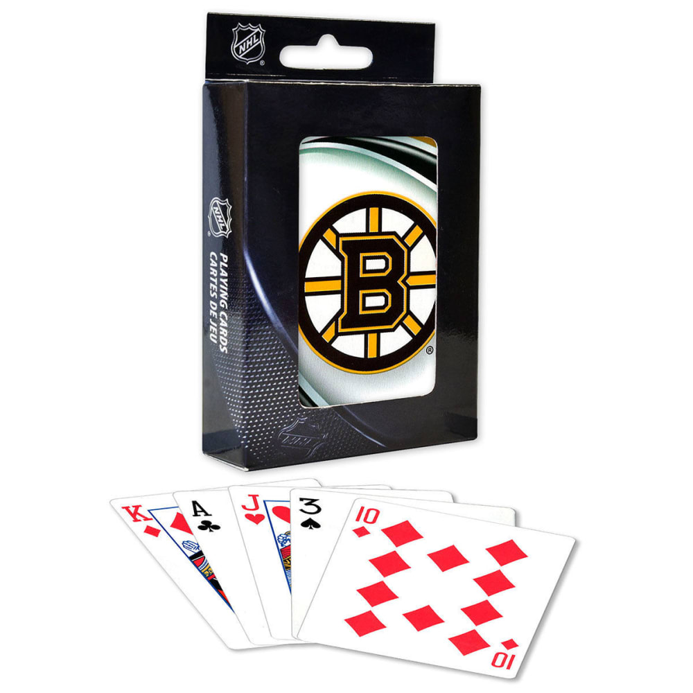 BOSTON BRUINS Playing Cards - NO COLOR
