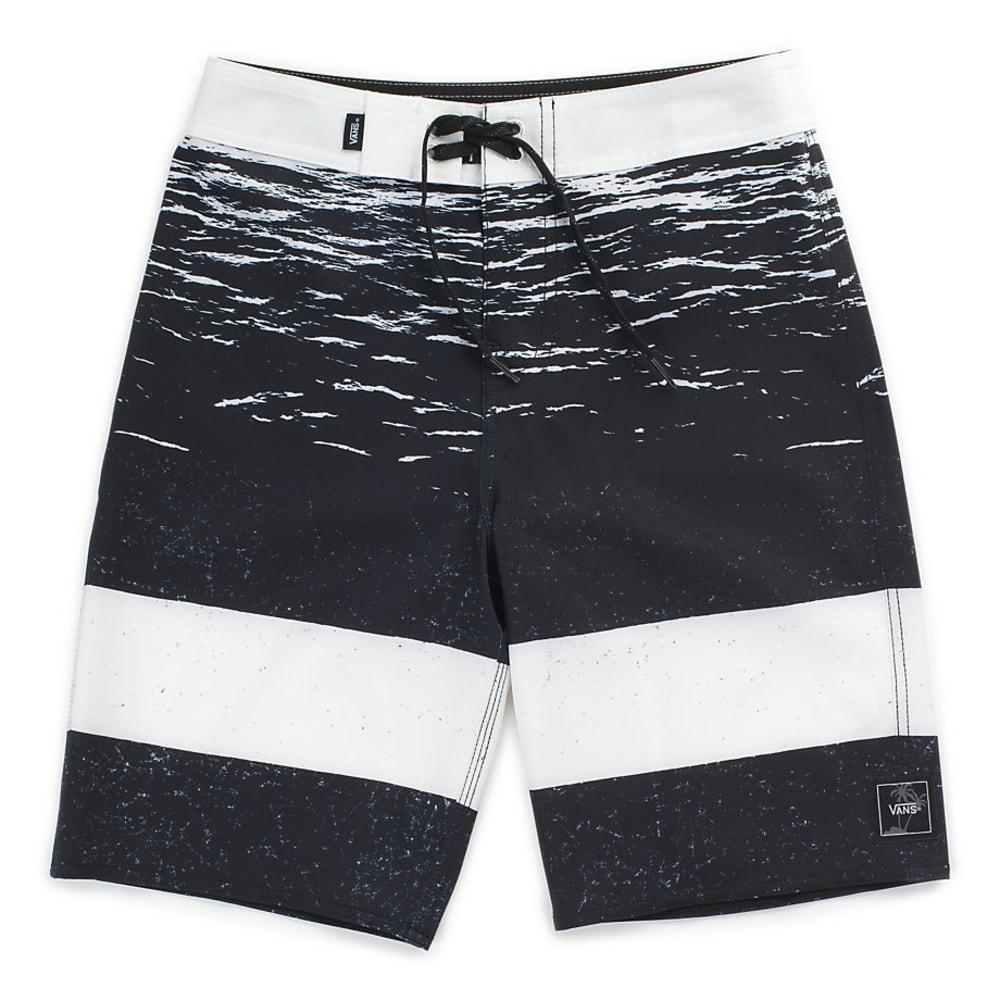 VANS Guys' 20 in. Era Boardshorts - WHT DK WATER